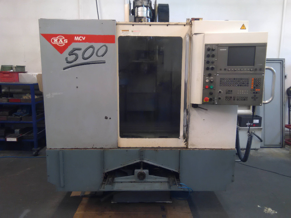OBRÁBĚCÍ CENTRUM MCV 500