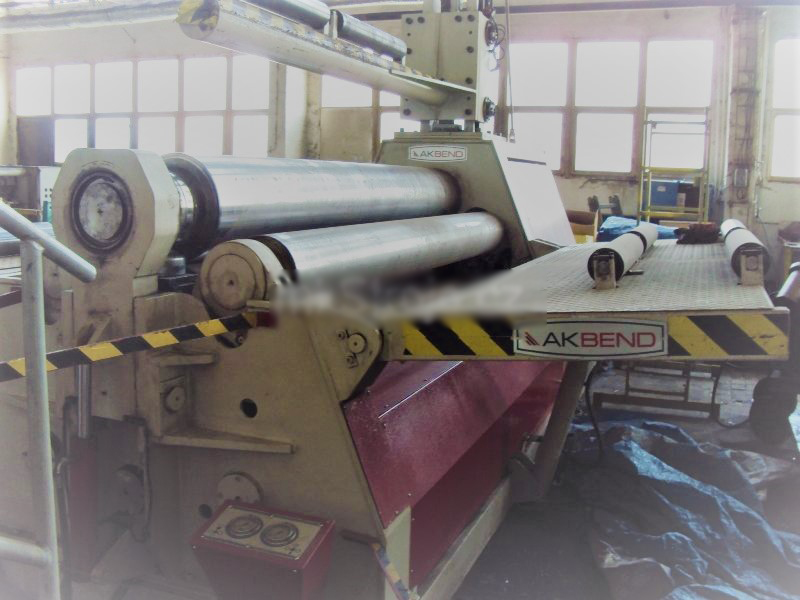 PLATE BENDING ROLL AHS 25/25 CNC